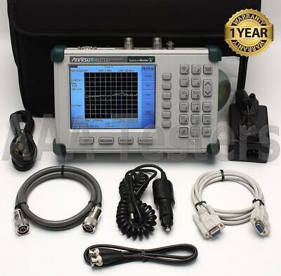 Anritsu Ms2711d Handheld Spectrum Master Analyzer W Options 3 21 Ms2711