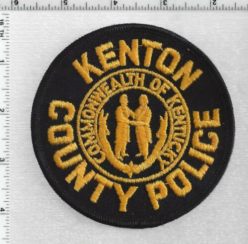 Kenton County Police (Kentucky) 2nd Issue Shoulder Patch