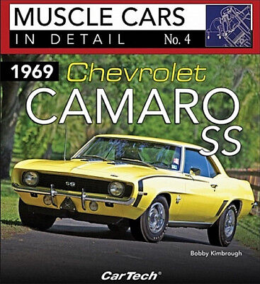 Muscle Cars In Detail No.4 1969 Chevrolet Camaro SS - Book CT564