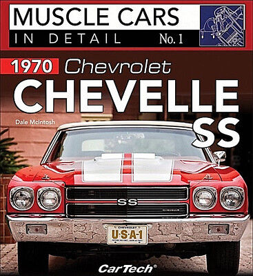 Muscle Cars In Detail No.1  1970 Chevrolet Chevelle SS - Book CT588
