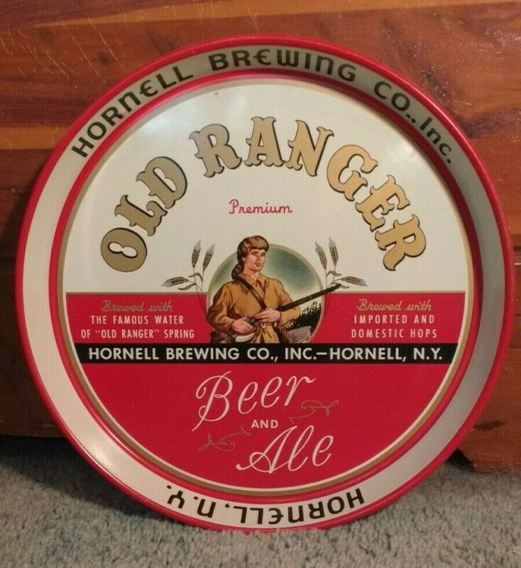Old Ranger Beer and Ale Tray - Hornell Brewing Co Inc Hornell, NY