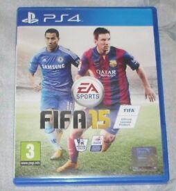 PS4 Football Bundle FIFA 14 & 15 Playstation Joblot Games