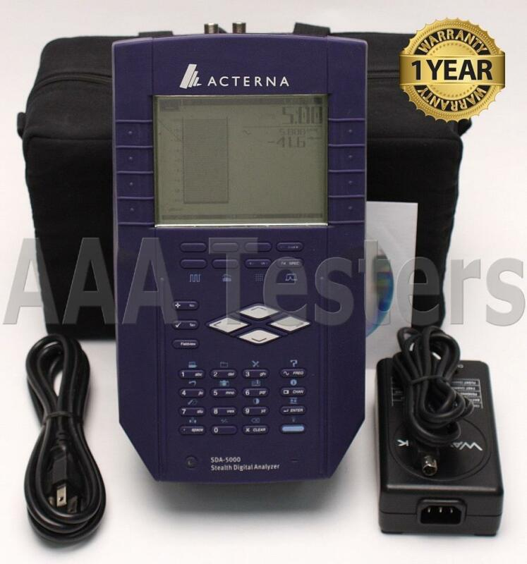 Acterna Wavetek JDSU SDA-5000 CATV Analyzer w/ Rev Sweep PathTrak Fieldview SDA