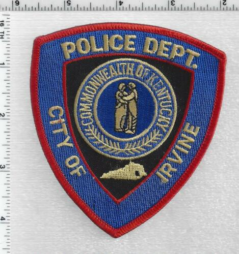 City of Irvine Police (Kentucky) 3rd Issue Shoulder Patch