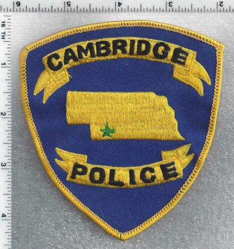 Cambridge Police (New Hampshire) 1st Issue Shoulder Patch
