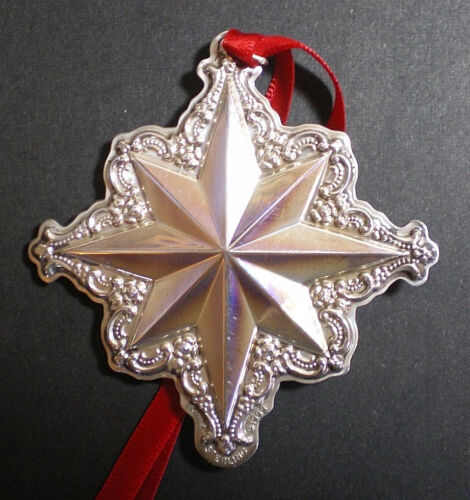 1999 Towle Old Master Star Sterling Christmas Ornament 3rd Edition