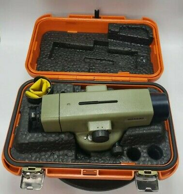 Wild Heerbrugg Leica Na2 Universal Automatic Surveying Precision Level Case