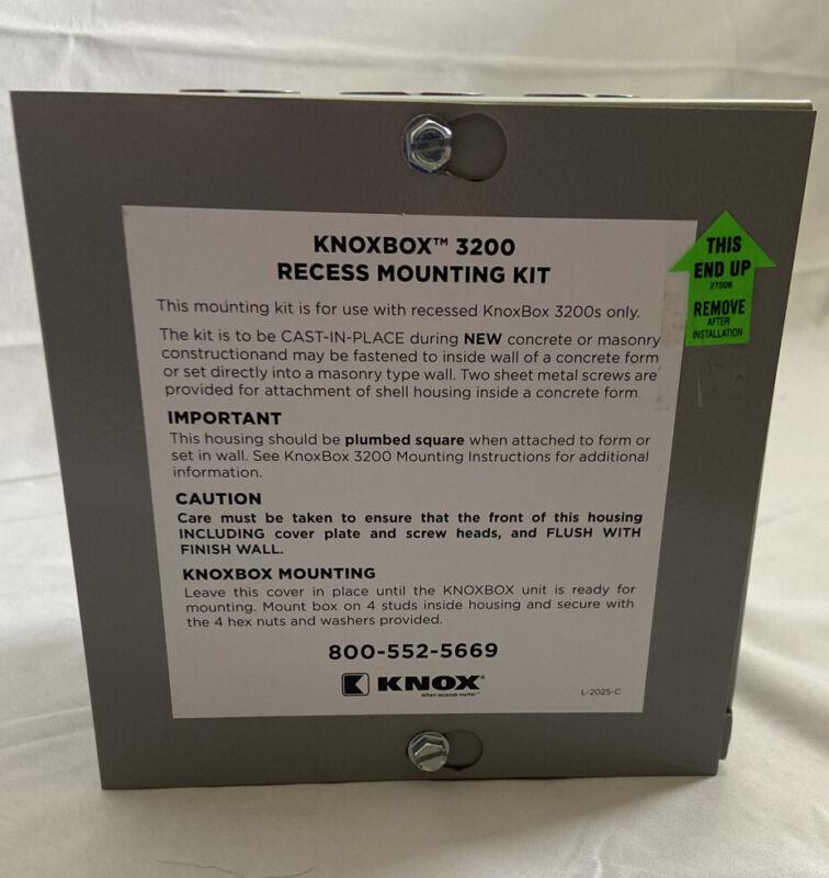 3200 Series Knox- Box Recessed Mounting Kit