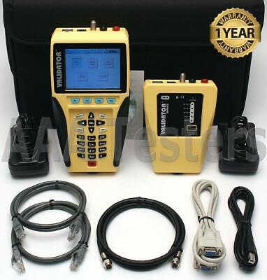 Jdsu Test-um Validator Nt950 Network Lan Ethernet Cable Tester Nt-950 Nt-900