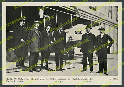 AGO Flugzeugwerke Berlin-Johannisthal Expedition Pilot Filchner Amundsen 1913