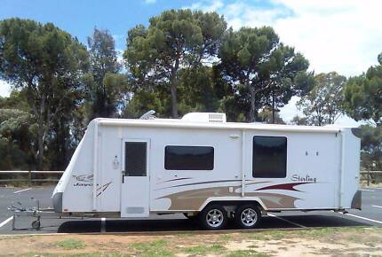 2008 JAYCO STERLING 26' DUAL SLIDE OUTS  EXCELLENT BEAUTIFUL VAN