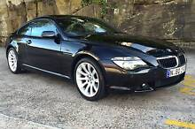 2006 BMW 6 series 630I Sports 3 litre straight 6 engine Cammeray North Sydney Area Preview