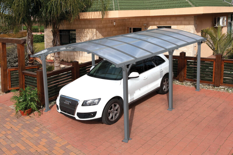 Palram Arcadia 5000 Metal Carport Kit (model HG9100)