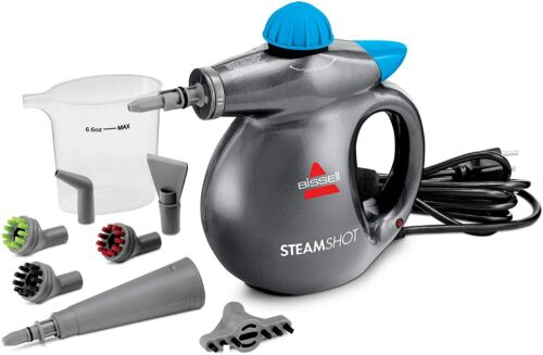 Car Detailing Steam Cleaner Machine Home Auto Portable Compact Dirt Removal Kit