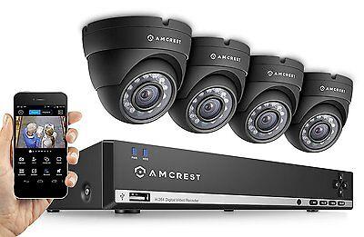Amcrest 960H 4CH Video Security System 500GB 4 Hd 800+ Tvl