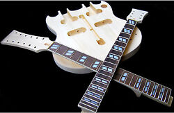 DIY BYO DOUBLE NECK 12/6 ELECTRIC GUITAR LUTHIER BUILDER KIT PROJECT