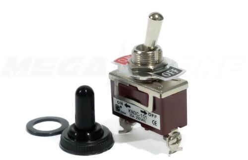 Toggle Switch Heavy Duty 20A/125V SPST ON/OFF  w/Waterproof Cover. USA SELLER!