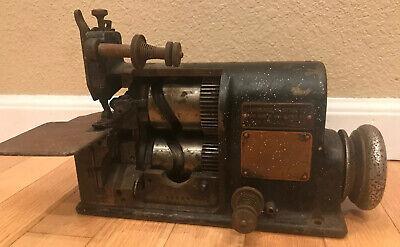 Merrow 60-w Industrial Sewing Machine Vintage Antique Lawrence Stein Chicago