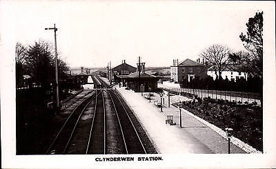 Clynderwen Railway Station near Whitland.