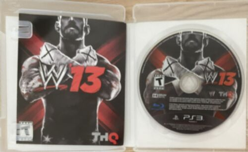 Pre-owned WWE 13 Sony PlayStation 3, 2012 Free Shipping - $9.99