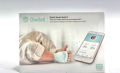 Owlet Smart Sock 2 Baby Monitor (29212-22)
