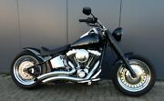 Harley-Davidson FLSTFB Fat Boy 96cui, Custombike, Top Zustand