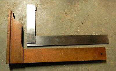 Starrett No 20 Square 24 Inch Mahogany Case Excellent Condition