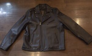 Knoles & Carter Brown Leather Jacket 3 XL