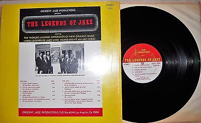 The Legends Of Jazz ‎– The Legends Of Jazz RARE US 1973 Jazz