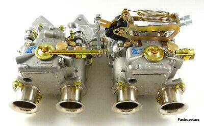 WEBER TWIN 40 DCOE CARBURETTOR KIT BMW 316/318 e21 M10 ASSEMBLED READY TO FIT