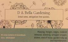Gardener/Maintenance Canberra Queanbeyan Rivett Weston Creek Preview