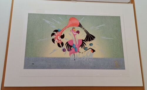 Walt Disney Animation FANTASIA 2000 HAND PAINTED LIMITED EDITION CEL