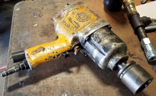 """¾"""" AIMCO URYU Pistol Grip Pneumatic Pulse Tool Non-Shut-Off Impact Gun [A6F#45]"""