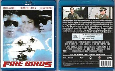 Fire Birds (BluRay) Nicolas Cage, Tommy Lee Jones, Sean Young (U.S./Kino Lorber)