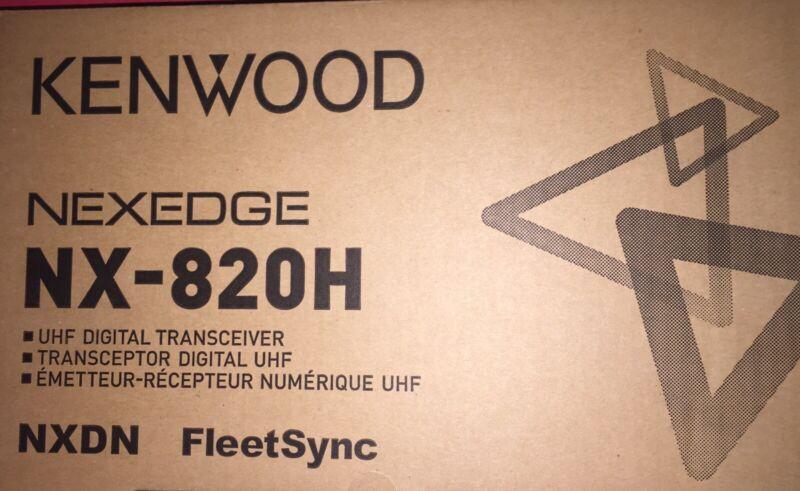 KENWOOD NX-820HGK 450-520MHZ UHF 45 Watts