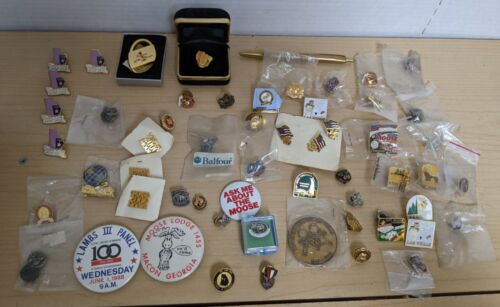 Huge Lot Loyal Order of Moose International Convention Lapel Pins & Collectibles