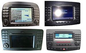 Mercedes Command APS NTG Navigation Command Display LCD Reparatur