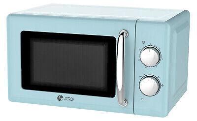 Microondas analógico ARTROM MM-720A , 20 L, temporizador, 5 potencias 700W azul