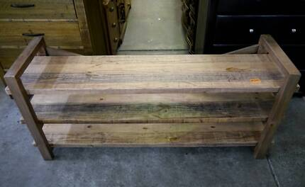 New Warehouse Recycled Rustic Timber TV Entertainment Unit