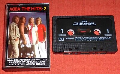 ABBA - UK CASSETTE TAPE - THE HITS 2 (GREATEST/BEST OF)