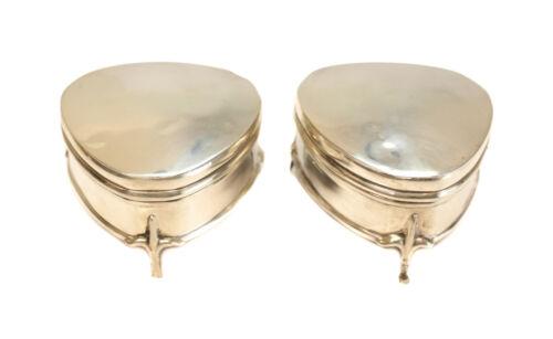 Pair Cornelius Desormeaux Saunders & James Francis Hollings Shepherd Ring Boxes