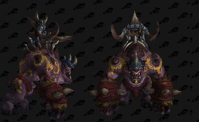 World of Warcraft WoW Rare Mount Loot Card - Coalfist Gronnling US