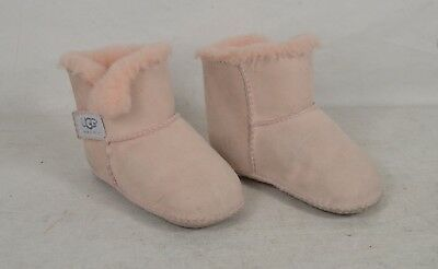 Ugg Boots Erin Pink Baby Toddler 18-24 Months Sheepskin Booties