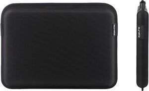 Runetz - 13-inch BLACK Magnetic Hard Sleeve Case for MacBook Pro 13.3
