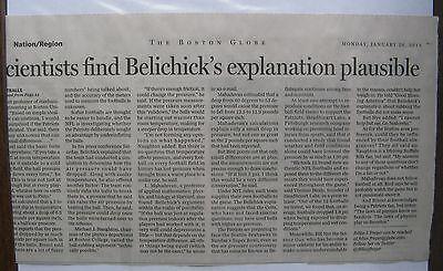 16   Clippings  Boston Globe 1  2015 Patriots Deflated Football Controversy