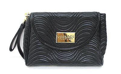 VERSACE BLACK LADIES CLUTCH / EVENING BAG