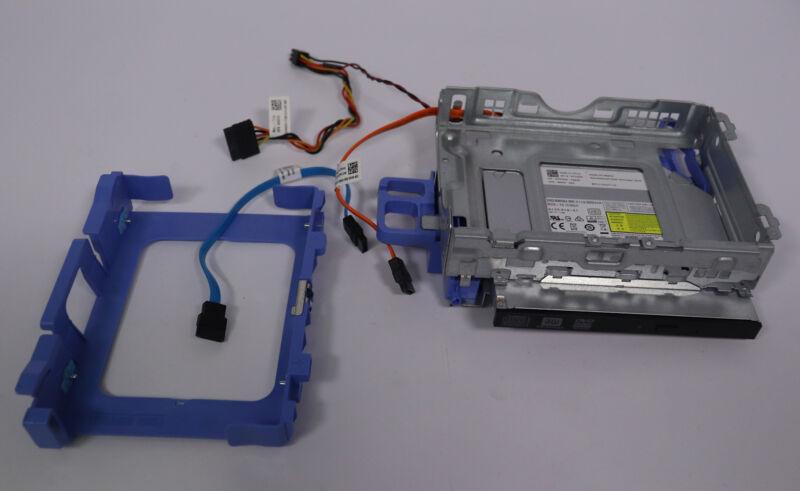 Dell Optiplex 3040 5040 7040 Hard Drive Caddy + Cage + DVD-RW + Cables