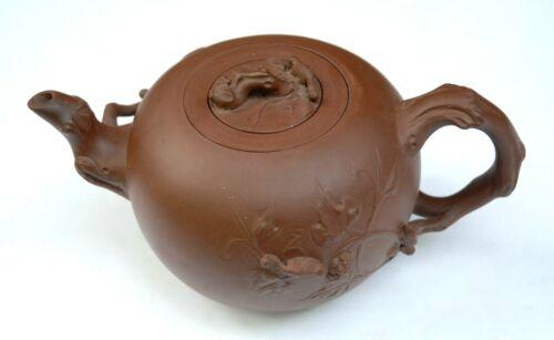 Chinese Zisha Teapot with marks