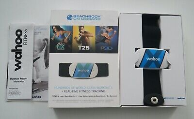 Wahoo TICKR X Heart Rate Monitor Real Time Fitness Tracking
