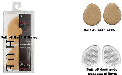 Hue Women's Ball of Foot Pillows Pads OR Ball Of Foot Massage - Hue Ball